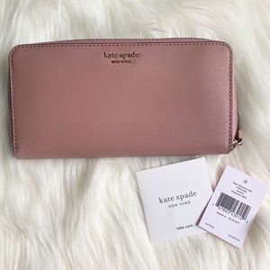 NWT Kate Spade Cameron Wallet in Dusty Peony